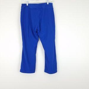 Nike Royal Blue Dri Fit Capris Crop Medium